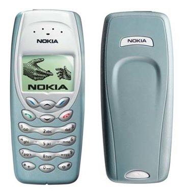 Originele Nokia 3410 coverset