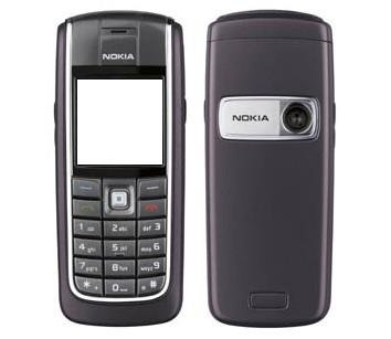 Originele Nokia 6020 Black coverset
