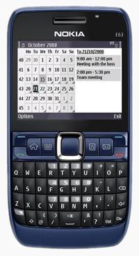 Nokia E63 Origineel