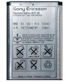 Sony Ericsson Accu BST-36 (origineel)